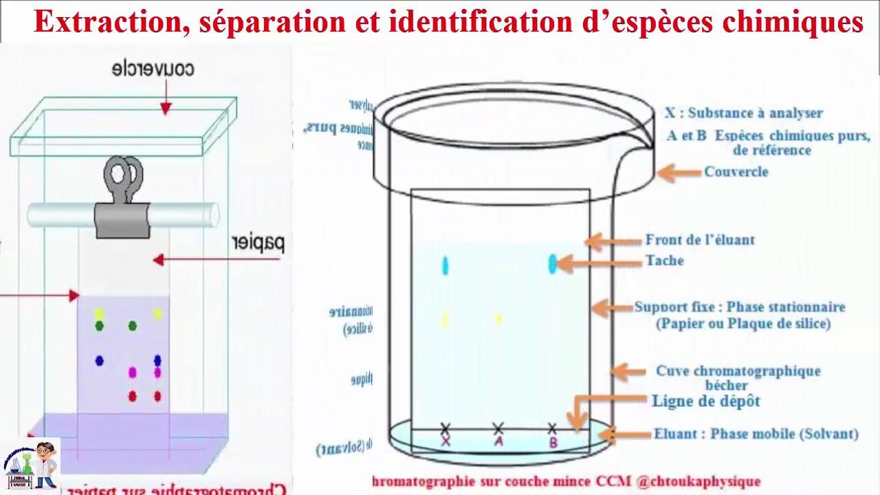 Ch 2 Chromatographie Sur Couche Mince Ccm Patie 4 Cours Tc