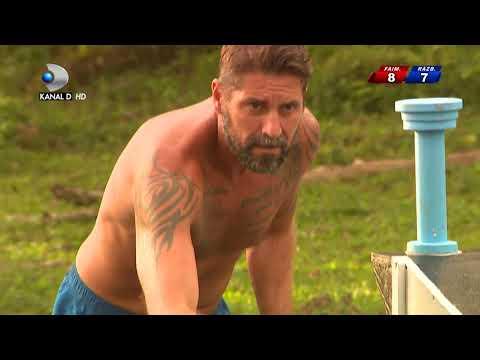 Exatlon Romania (10.02.2018) - Joc pentru hot dog si chips-uri! Cine a castigat? Ep 20, Partea 5