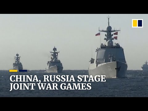 China and Russia conduct joint naval drills in Sea of Japan