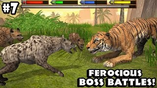 Ultimate Savanna Simulator - BOSS BATTLES - Android/iOS - Gameplay Part 7