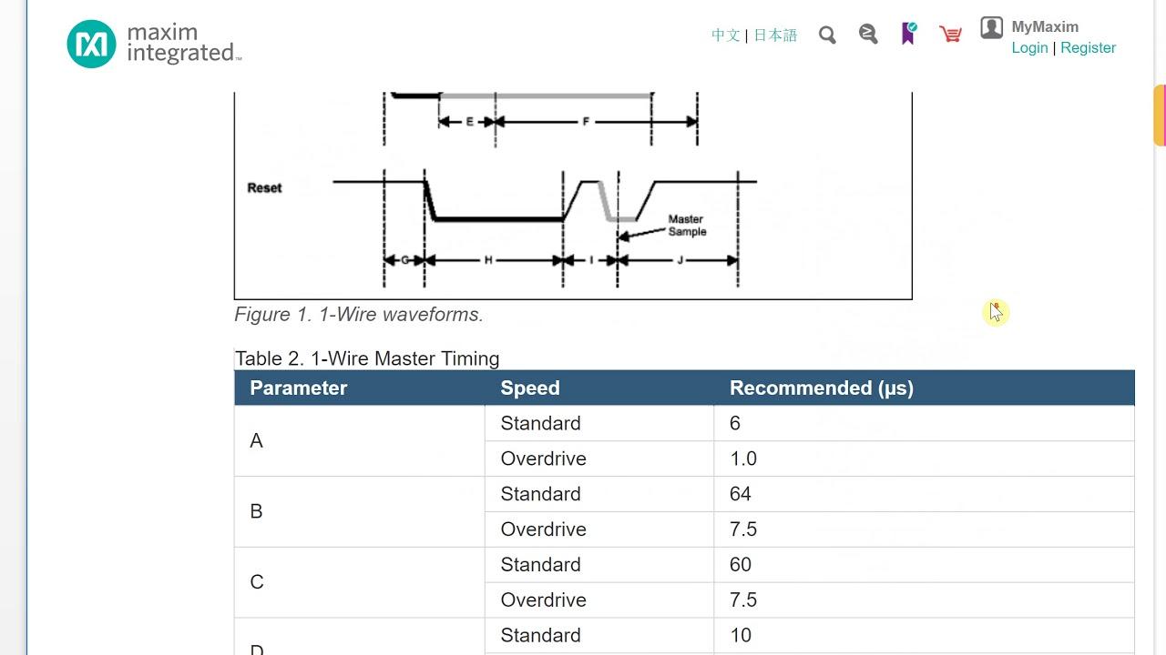 verilog tutorial 44 1 wire digital temperature sensor ds18b20 02 [ 1280 x 720 Pixel ]