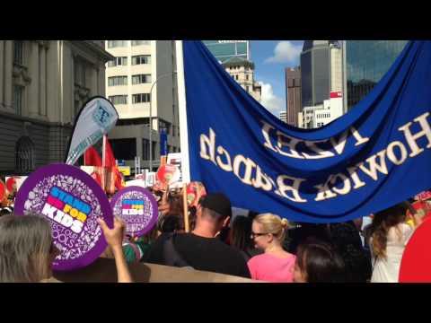 NZEI March