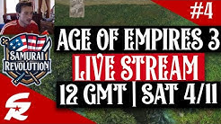 Age of Empires 3 LIVESTREAM #4 | 12 GMT, 4/11