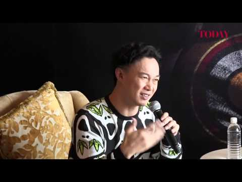 Eason Chan Singapore Concert Press Conference, Oct 19, 2012