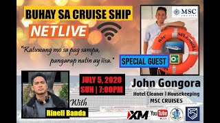 HOTEL CLEANER (CRUISE SHIP JOBS) | BSCS NET LIVE! (Buhay Sa Cruise Ship)