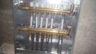 Лучевая система отопления самая надежная и простая.