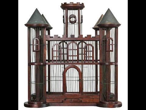 how to make Breeding wooden bird cage at home