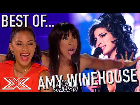 TOP 10 Amy Winehouse Auditions On X Factor Around The World   X Factor Global