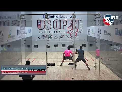 2018 US Open: Quarter-Finals: A. Parilla vs A. Landa