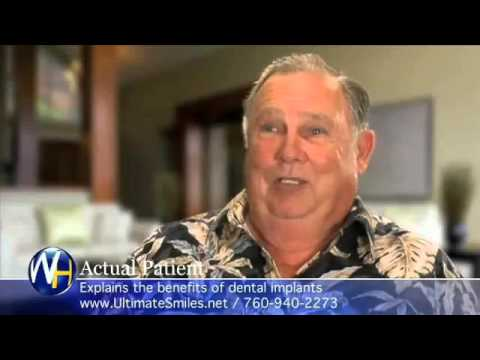 Patient Shares Testimonial for Dental Implants in Vista, CA With Dr. Henninger