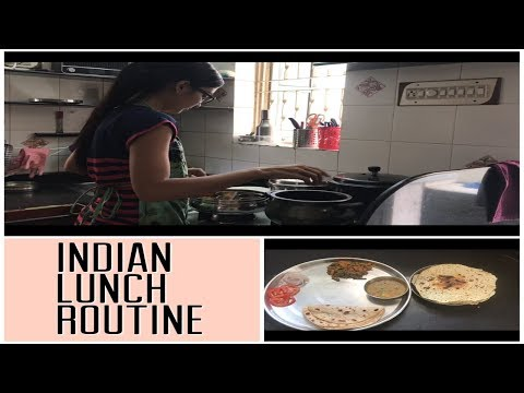 INDIAN DAILY LUNCH ROUTINE -INDIAN LUNCH ROUTINE - PRIYA VLOGZ