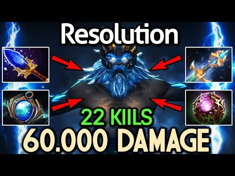 Resolution Dota 2 [Zeus] WTF! Shocking Damage - 22 Kills thumbnail