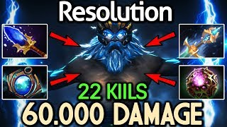 Resolution Dota 2 [Zeus] WTF! Shocking Damage - 22 Kills