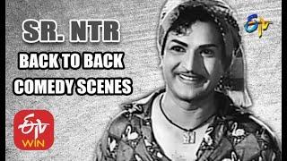 Sr. NTR | Back to Back | Comedy Scenes - 1 | ETV Cinema
