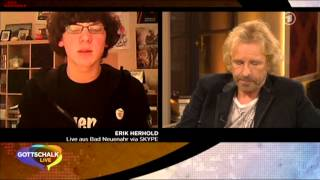 Gottschalk Live - erste Sendung 30.01.2012 Duran Duran Anke Engelke