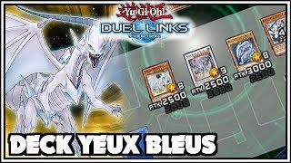 Deck Yeux Bleus ft. Esprit du Dragon Blanc Yu-Gi-Oh Duel Links FR