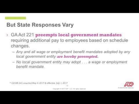 The Growing Power of State and Local Workplace Regulations: Employer Compliance Trends, Part 2