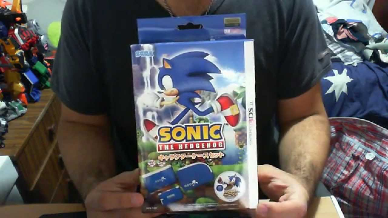 Sonic The Hedgehog Case Set 3ds Ll Pouch Case Soundtrack Cd Review Youtube