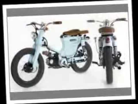 kumpulan modifikasi motor honda 70an
