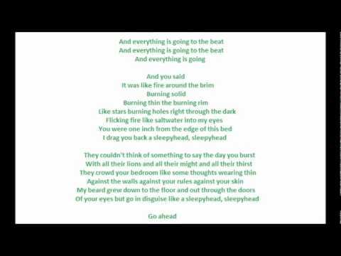 Sleepyhead by Passion Pit (With Lyrics)