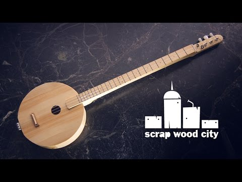 DIY Experimental Acoustic String Musical Instrument