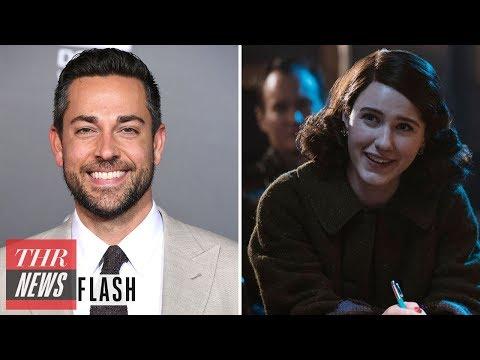Zachary Levi Cast in 'The Marvelous Mrs. Maisel' For Season 2  | THR News Flash