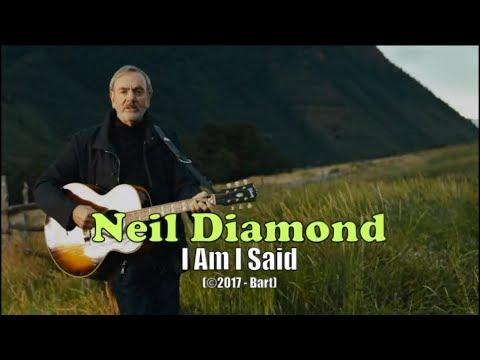 Neil Diamond - I Am I Said (Karaoke)