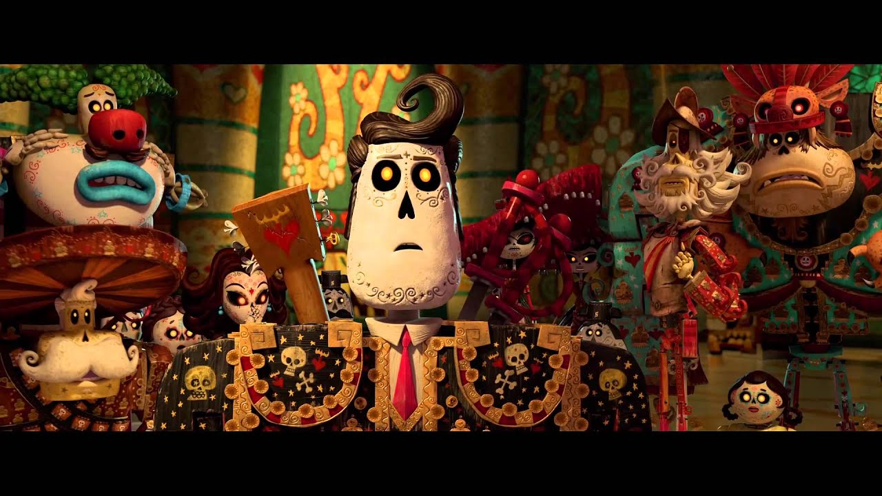 The Book Of Life | official Trailer US (2014) Guillermo