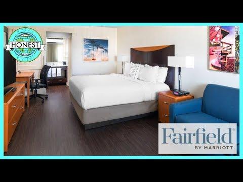 Fairfield Inn By Marriott Room Tour & Review - Disneyland, Anaheim