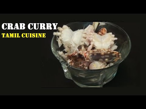 Crab Curry or Nandu Kulambu, Tamil Cuisine
