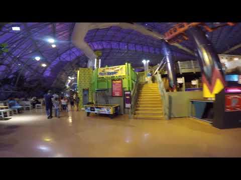 Walking arround the Adventure Dome in Circus Circus Las Vegas, Nevada