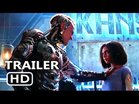 ALITA BATTLE ANGEL   2018 James Cameron Sci Fi Movie HD