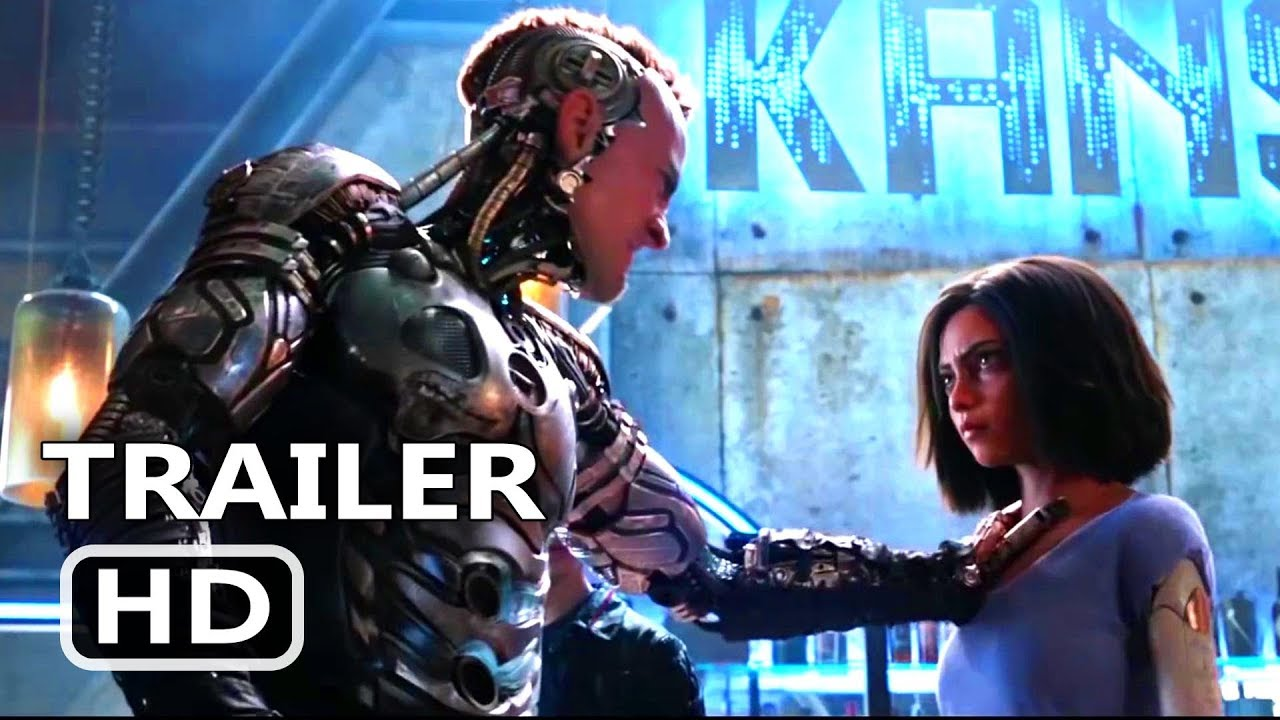 ALITA BATTLE ANGEL Official Trailer 2018 James Cameron Sci Fi Movie HD