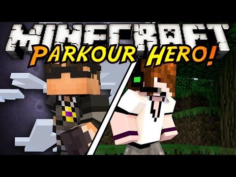 Minecraft Parkour : PARKOUR HERO!