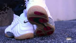 pretty nice cd8ce defe4 Nike Air Foamposite Pro  Gucci  White Sneaker Review ...