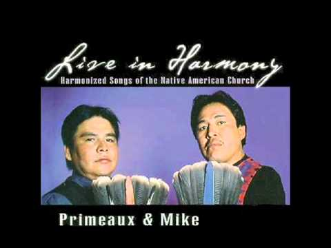 Verdell Primeaux & Johnny Mike - 01 1/2 Four Harmonized Peyote Songs