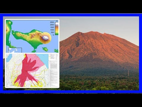 Breaking News | Bali volcano update: mount agung – how big is it? when was the last eruption?