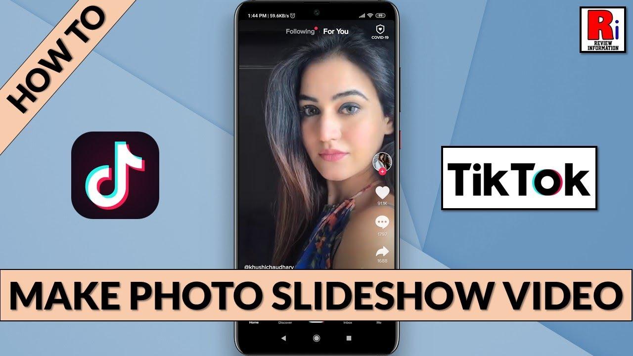 How To Make Photo Slideshow Video In Tiktok Youtube
