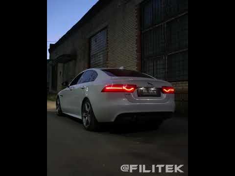 Спортивный выхлоп на Jaguar XE 2 литра