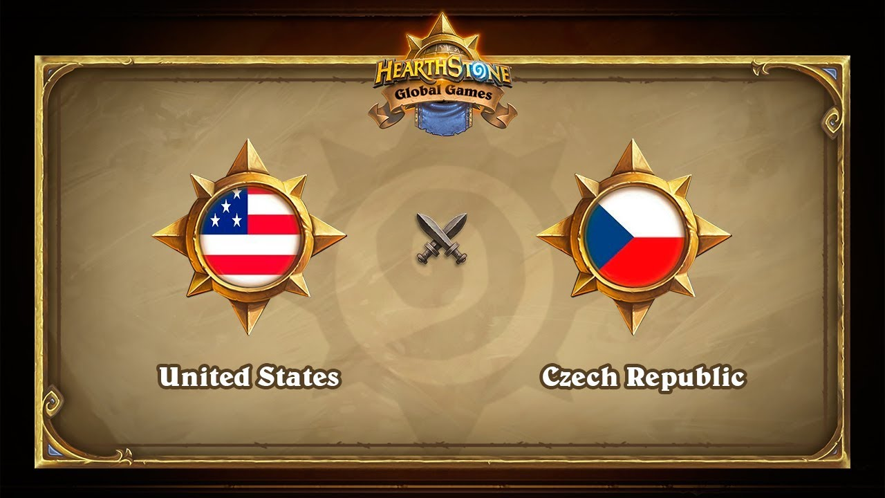 США vs Чехия, Semi-final, Hearthstone Global Games Finals