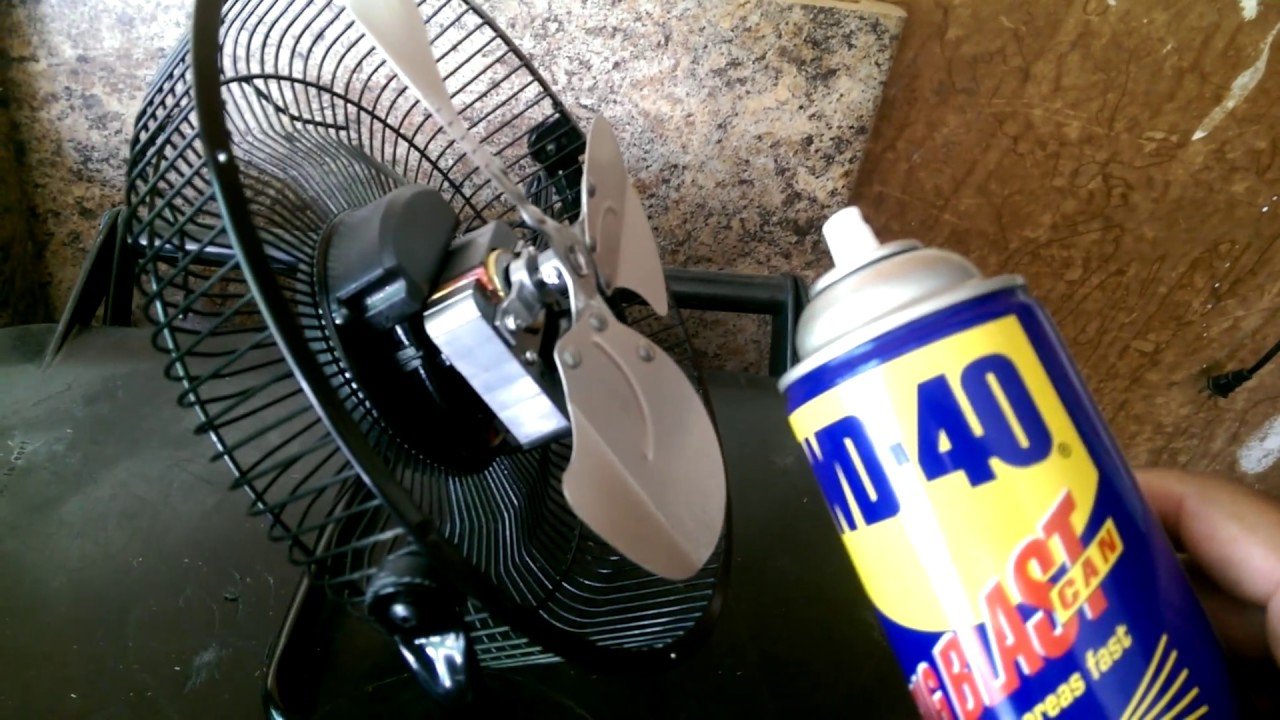 How To Fix Desk Fan Blades Wont Spin Youtube