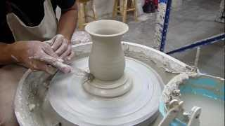 Throwing With A Template - Clay Craft Malaysia