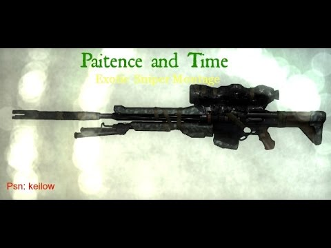 Destiny Ps4- Patience and Time montage - YouTube