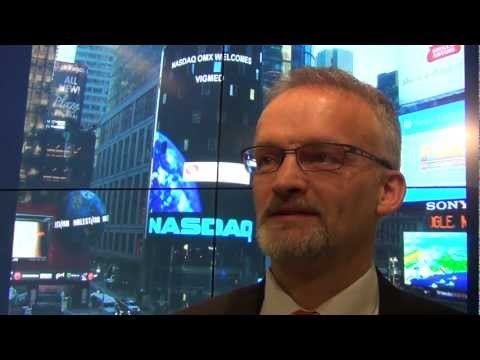 NASDAQ OMX welcomes Vigmed Holding AB to First North Stockholm.