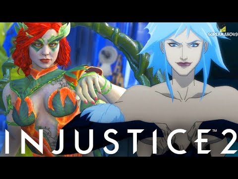 "THE MOST OVERPOWERED ABILITY MAKES PEOPLE QUIT! - Injustice 2 ""Poison Ivy"" Gameplay"