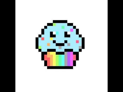 Cupcake Pixel Art