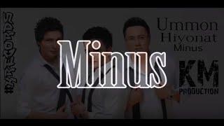 UMMON MINUS (MINUSOVKA-INSTRUMENTAL)