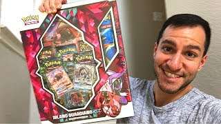 Opening NEW Pokemon Cards ISLAND GUARDIANS GX COLLECTION BOX! (Lost Thunder)