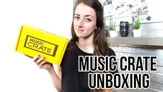 MUSIC CRATE UNBOXING + discount code | JUNE 2016 | Emmelie Herwegh