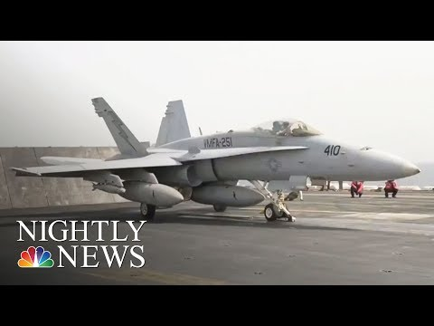 US Shoots Down Syrian Jet, Russia Threatens To Target US Planes | NBC Nightly News